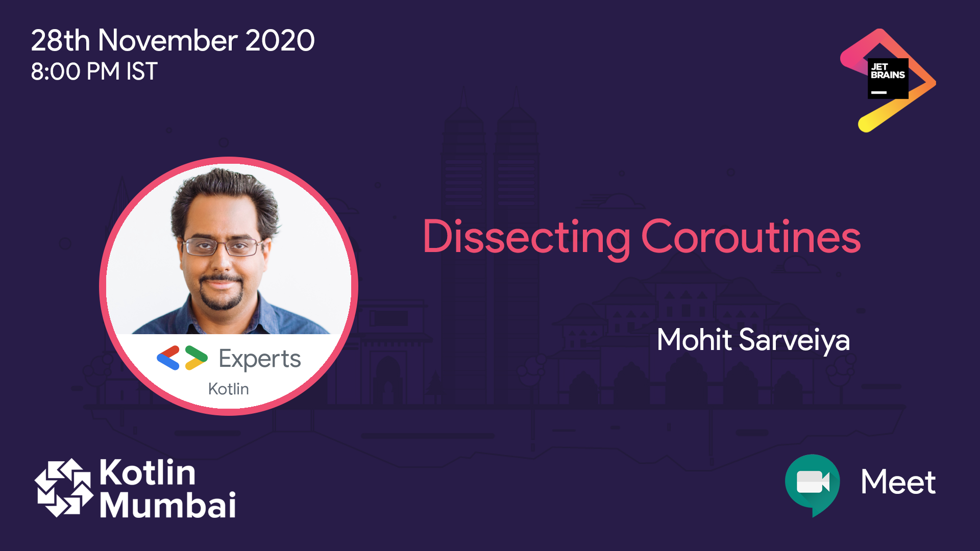 Mohit Sarveiya, GDE for Kotlin talks about selectors, channels and flows and dissects coroutines